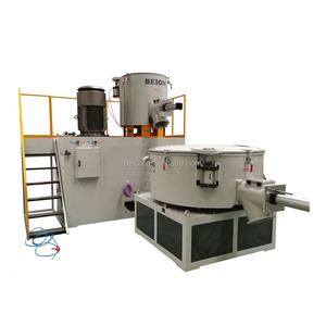 BEION National vertical type plastic dry powder mixer for pipe extrusion