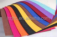 Make-to-order needle punched colorful pet/pp nonwoven fabric felt