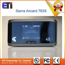 Sierra Aircard 763S Unlocked GPS 100Mbps 4G LTE AWS(1700/2100)/2600MHz Wireless Router 3G UMTS Wifi Mobile Hotspot Broadband