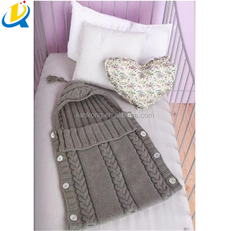 Hot selling simple style cotton wholesale stroller baby sleeping bag