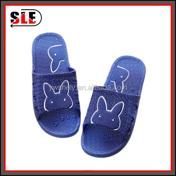 2016 fashion stock man slipper from China