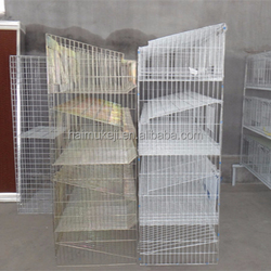 Commercial Rabbit Breeding Cages