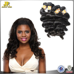 JINPAI Hair Top Double Weft Wet And Wavy Italian Keratin Hair Extensions