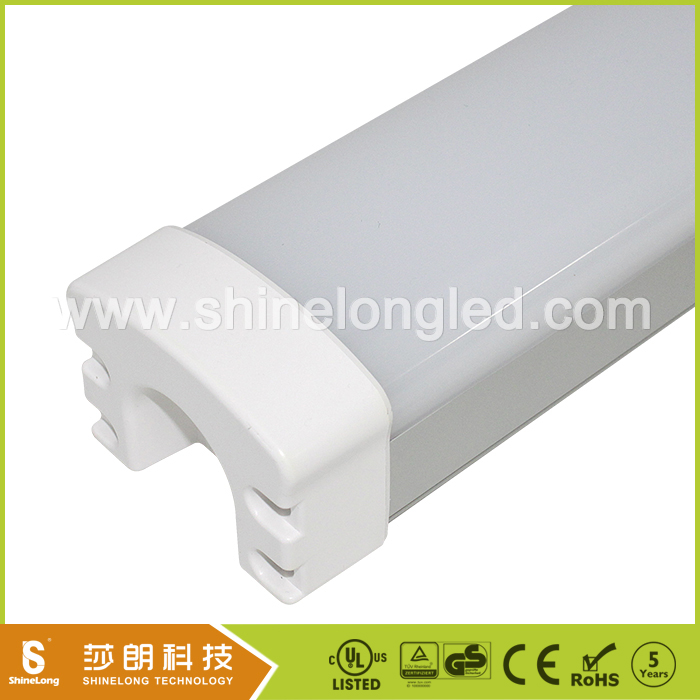 Dimmable ip65 led tri proof light 5 years warranty TUV/UL list Lifud DALI dimmable driver