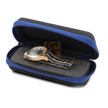 simple ornament rectangle stainless wrist watch box