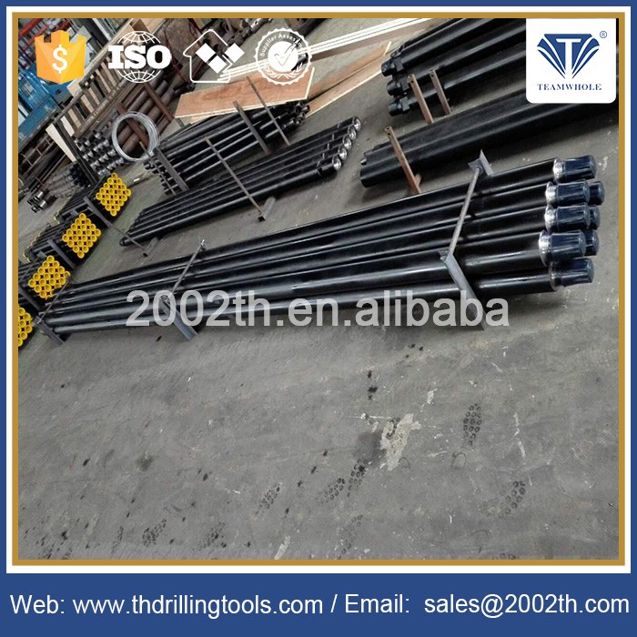 114mm Friction welded BECO Standard REG Waterwells Oil & Gas drilling alloy steel dth hammer drill rod