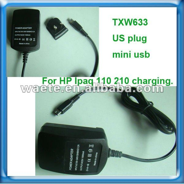 Multi Charger For HP PDA,5V 1A Tablet Charger,For IPAQ 110 Tablet Charger Manufacturers&Suppliers&Factories