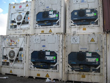 sizes of refrigerated container van