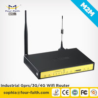 F3834 Industrial 4G WIFI router with antenna WAN LAN serial port for CCTV DVTS MDVR
