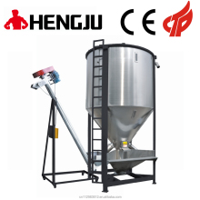 Hengju hot selling large capacity 5000kg vertical plastic granules stand mixer sitrrer mixing machine