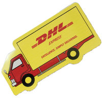 Truck magnet with full color
