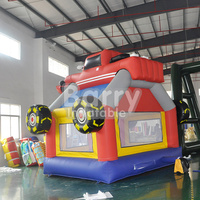 Amazing big Car inflatable bouncer monster truck bounce house for children