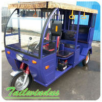 cheap price for electric passenger tricycle with passenger seat