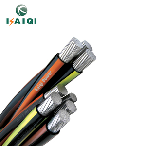 0.6/1kv Low Voltage Medium Voltage Spacer Overhead Insulated line Aluminum cable Aerial bundle cable ABC cable