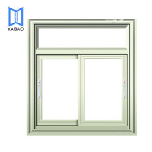 PVC Profile Sliding Windows Interior Office Sliding Glass Window Made in China