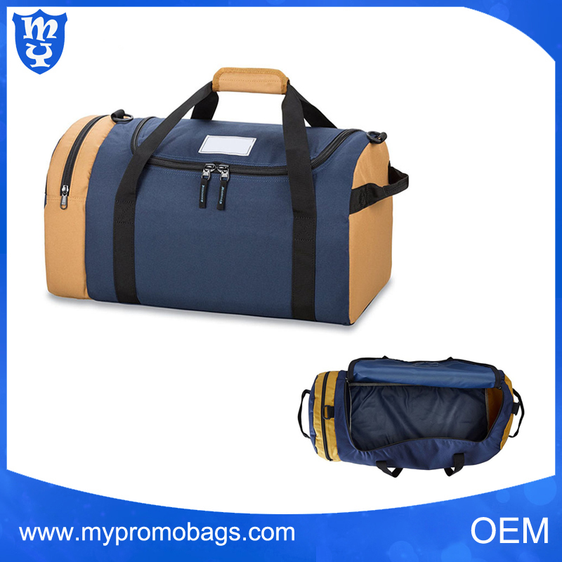 High quality stylish outdoor travel bag gym duffle bag mens canvas travel bag