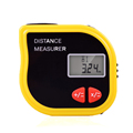 CP-3001 New mini tapeline-shaped ultrasonic distance meter with tape measure without Area/Volume calculator