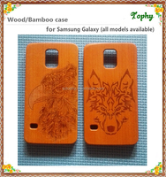 Natural wood mobile phone shell for samsung galaxy S5 ,handmade wooden for samsung S5 back cover case