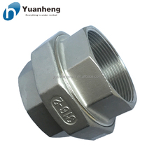 Stainless steel 304/316 pipe connection fittings Conical Seal Unions