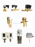 air conditioner parts supplier, temperature switch, flow switch, solenoid valves, expansion valves etc