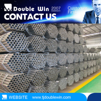 China Manufacturing BS1387 G I Pipe Galvanized Iron Pipe Price