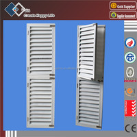 Finished Surface Finishing And Aluminum Alloy Door Material Aluminum Louvered Window