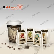 Good price food packaging aluminum plastic coffee bags with customer printing