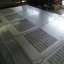 stainless steel sheet metal fabrication panel perforated supplier square sheet metal hole punch