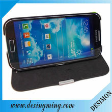 360 degree rotating pu leather wallet case for samsung galaxy S4 I9500