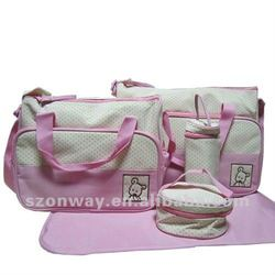 Travel mummy bag set