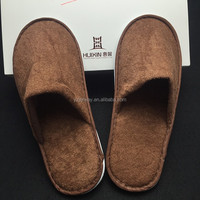 Black Waffle Slippers Hotel Disposable Products