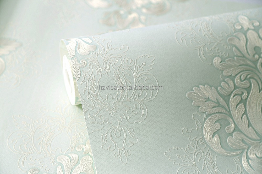 Floral design Nonwoven wall paper house used wall paper