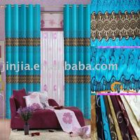 z home textile window draperies printed curtain fabric ready made curtain