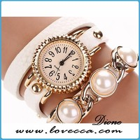 From Guangzhou China slim stone flower case watch