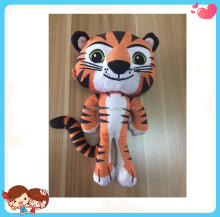 Free Sample Custom High Quality Cute Soft Stuffed Plush Mini Tiger Doll Toys For Kids China Factory