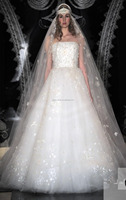 Ladies Summer Wedding Beautiful Organza Dress