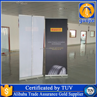 Fabric Roll Display Stands, Retractable Banner Stands, Roll Up Horizontal Banner Stand