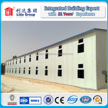 Kuwait road project site office and temporary worker house with prefabricated house solution