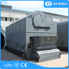 Low Pressure horizontal wood fired industry rubber boiler