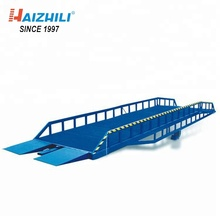 Factory hydraulic dock ramp direct sell 6000KG mobile loading ramps for container