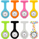 HR-PW72 interchangeable nurse fob watch silicon rubber nurse watch