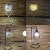 Maso 2019 wholesale fancy modern iron decorative chinese lamp antique industrial table lights for home decor loft hotel bar