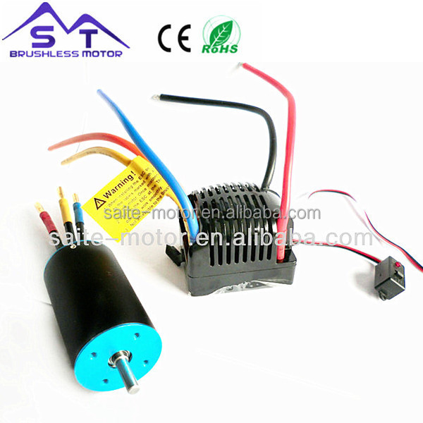 High Power RC Car Model 3660 KV4090 2-pole RC hobby toy Car Brushless dc Motor