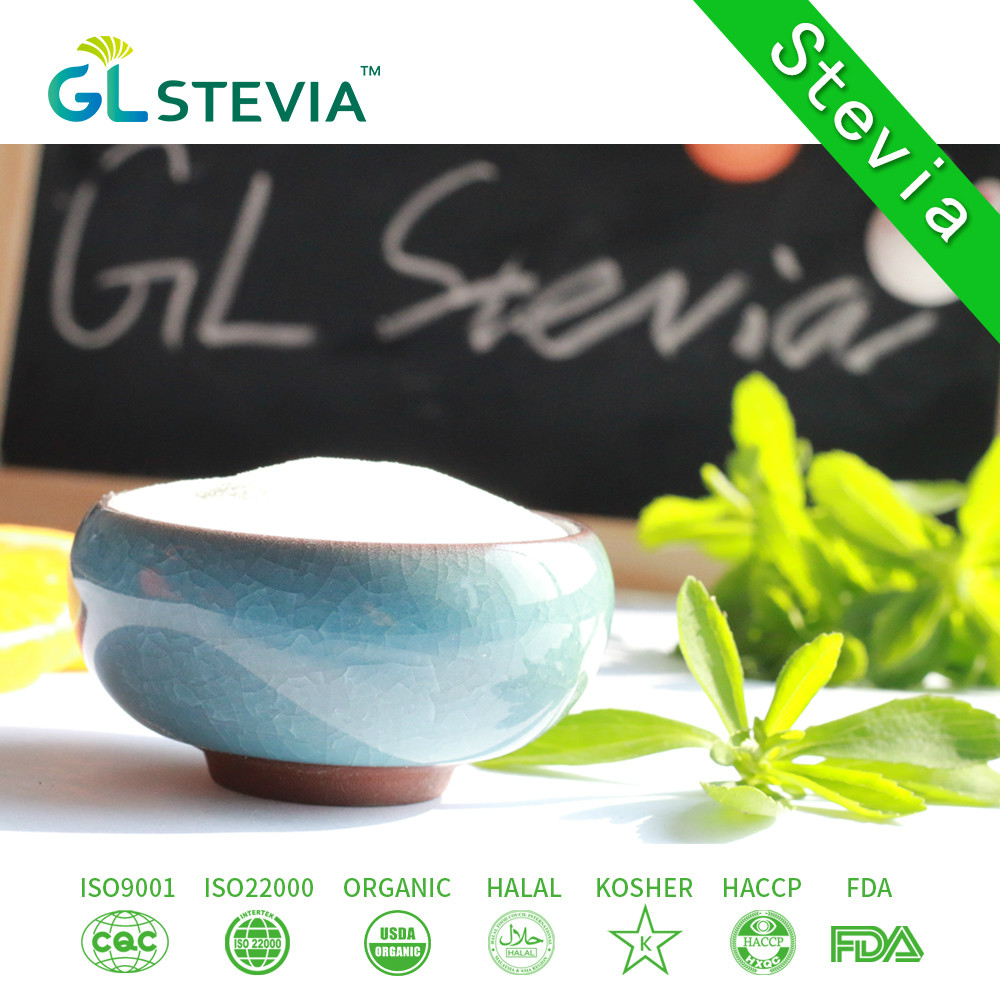 factory direct supply 100% natural stevia p.e.made with organic