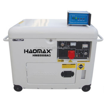 HAOMAX DIESEL GENERATOR, FREEZER MODEL,5KW WITH ATS