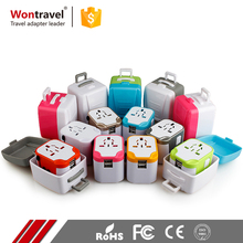 Worldwide Swiss Dubai Malaysia AC DC Universal Adaptor Switched Dual USB 12V Power Adapter