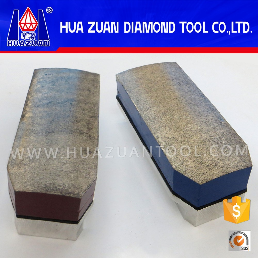 Good quality diamond metal fickert for granite polishing