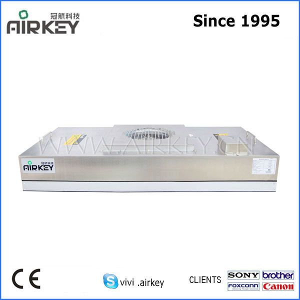 low noise stainless steel ultra-thin hepa filter FFU / fan filter unit for no-dust cleanroom