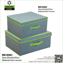 Foldable Non-woven Fabric Storage Box With Lids