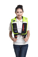Safety offshore work life vest inflatable life jacket